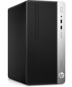 HP 400 MT G4 i5-7500 1 TB 4 GB Windows 10 Pro 64 bit